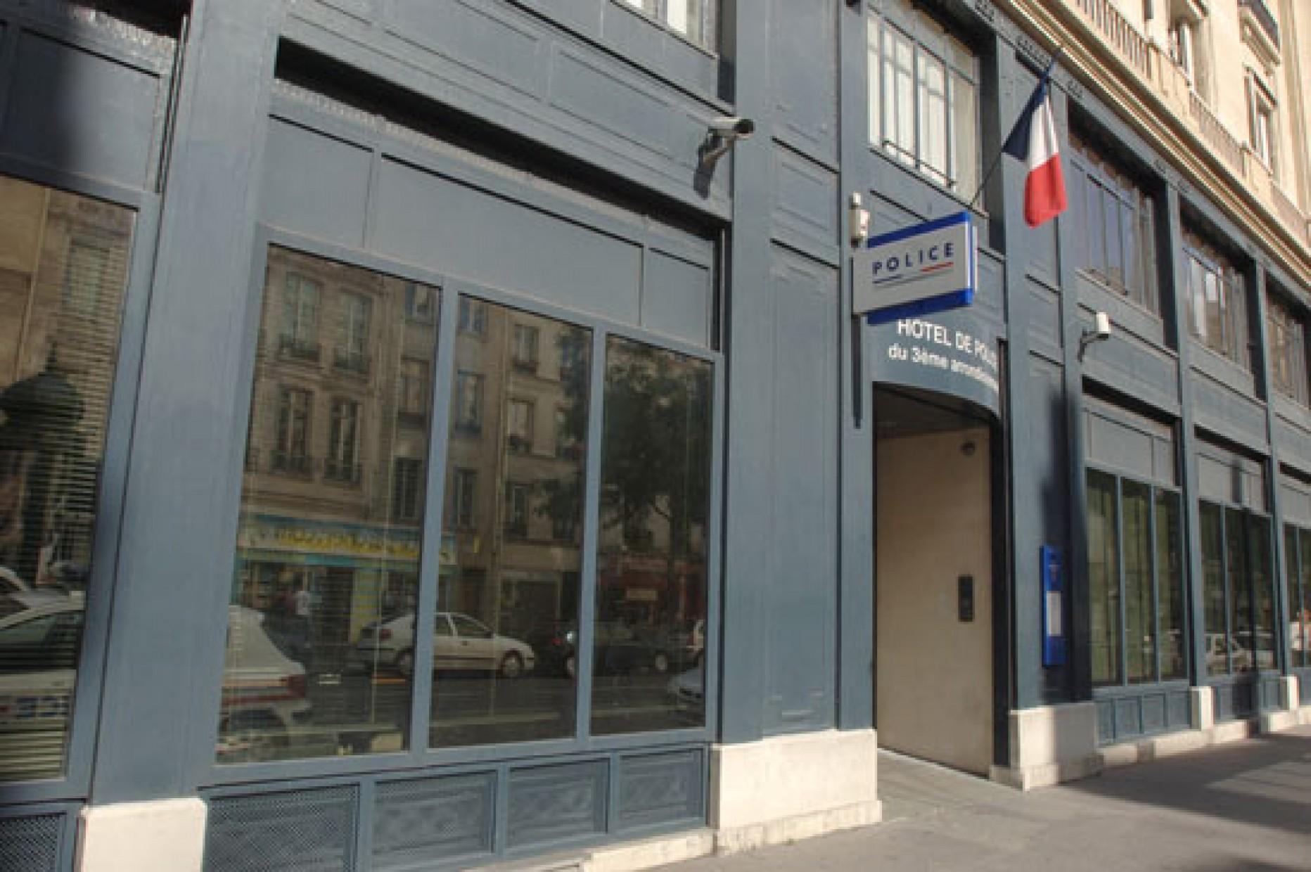 Commissariat central de police du 3 me arrondissement for Jardin lazare rachline rue payenne paris 3eme