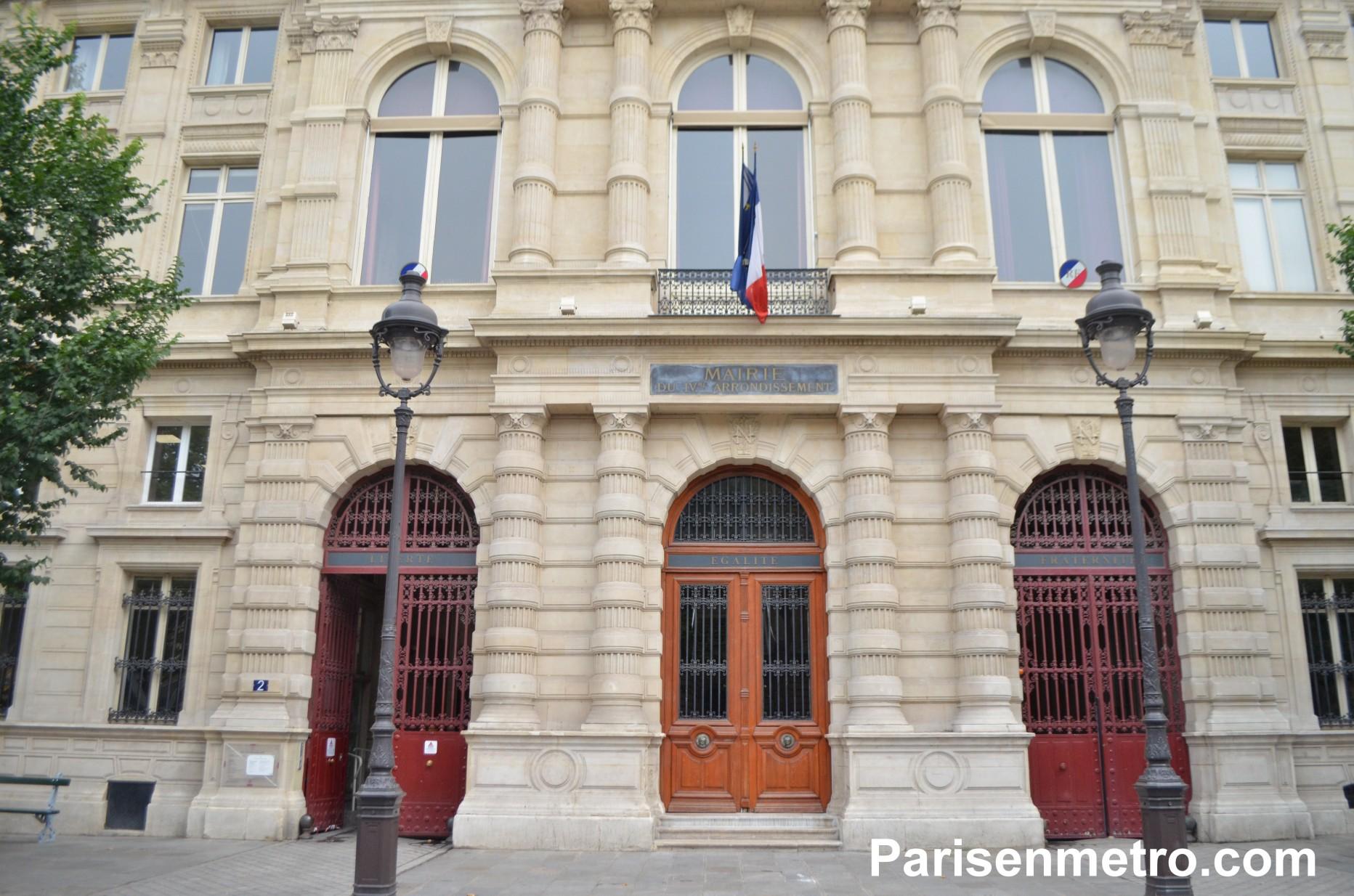 Mairie du 4ème arrondissement