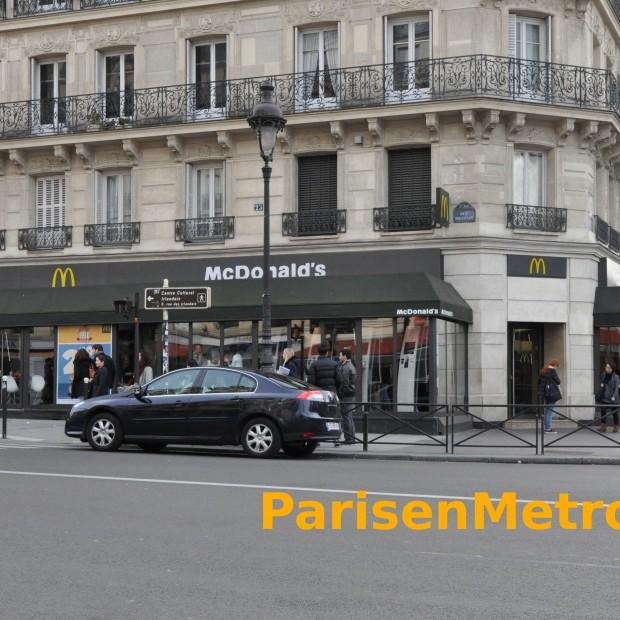 McDonald's Luxembourg Panthéon