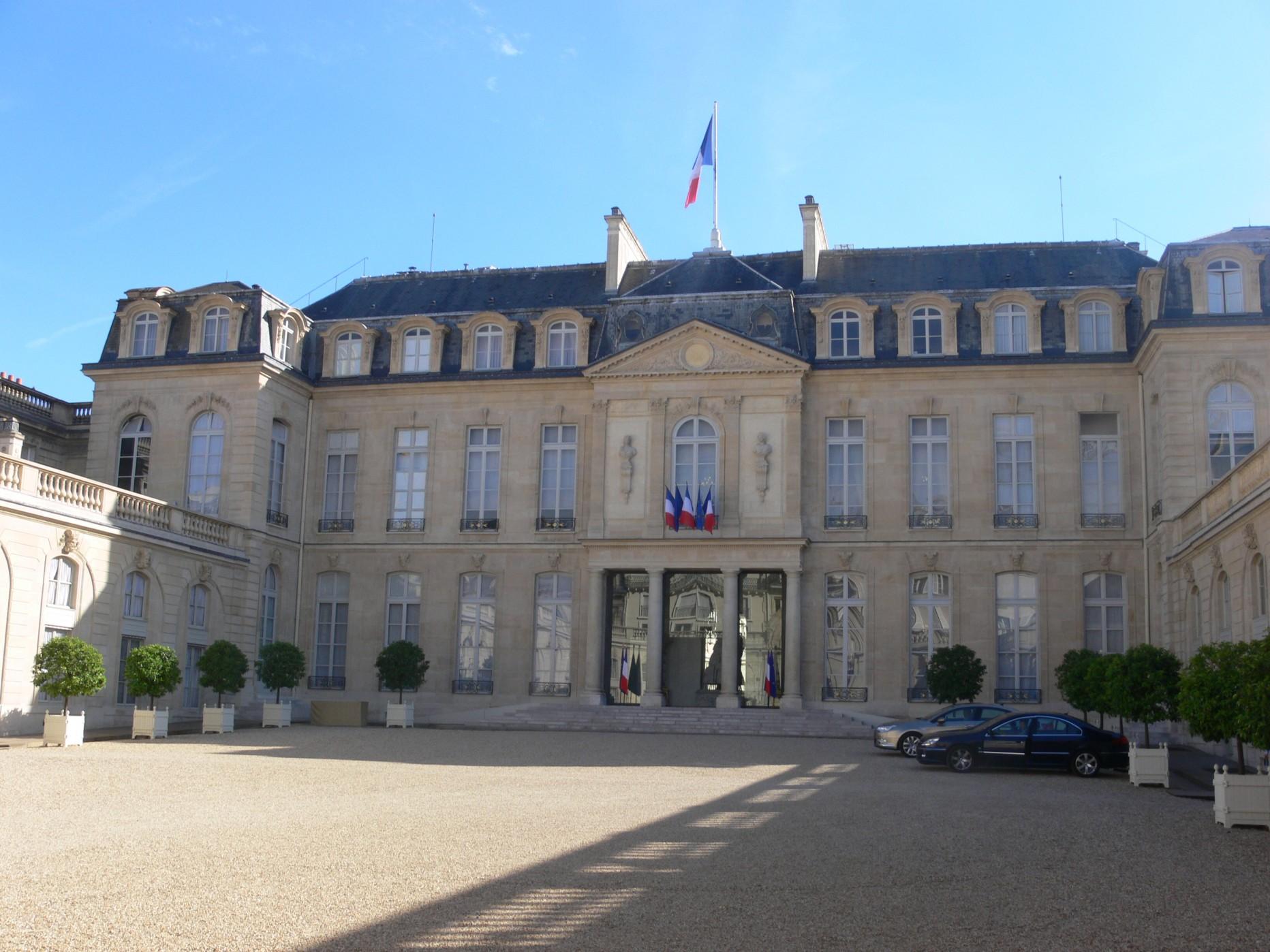 Présidence de la République (Palais de l'Elysée)