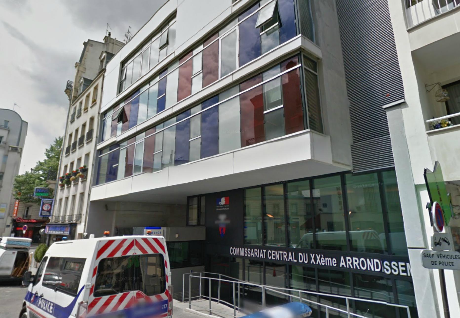 Commissariat Central de Police du 20ème arrondissement