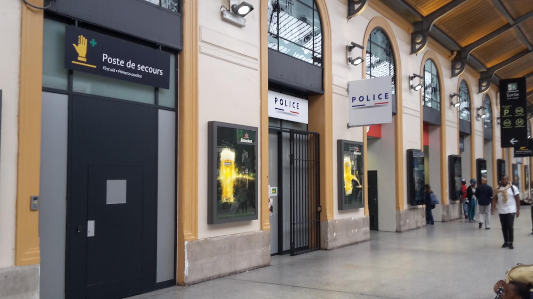 Commissariat de Police – Gare Saint-Lazare