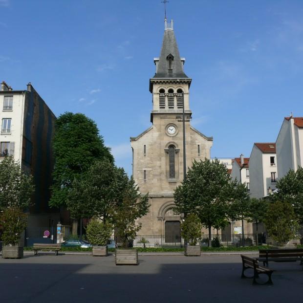 Eglise Sainte-Geneviève de la Plaine Saint-Denis