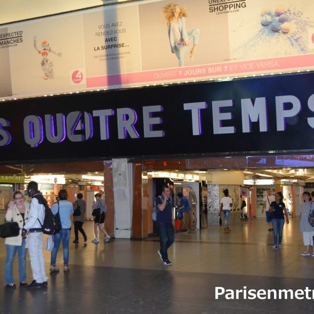 Centre Commercial – Les 4 Temps