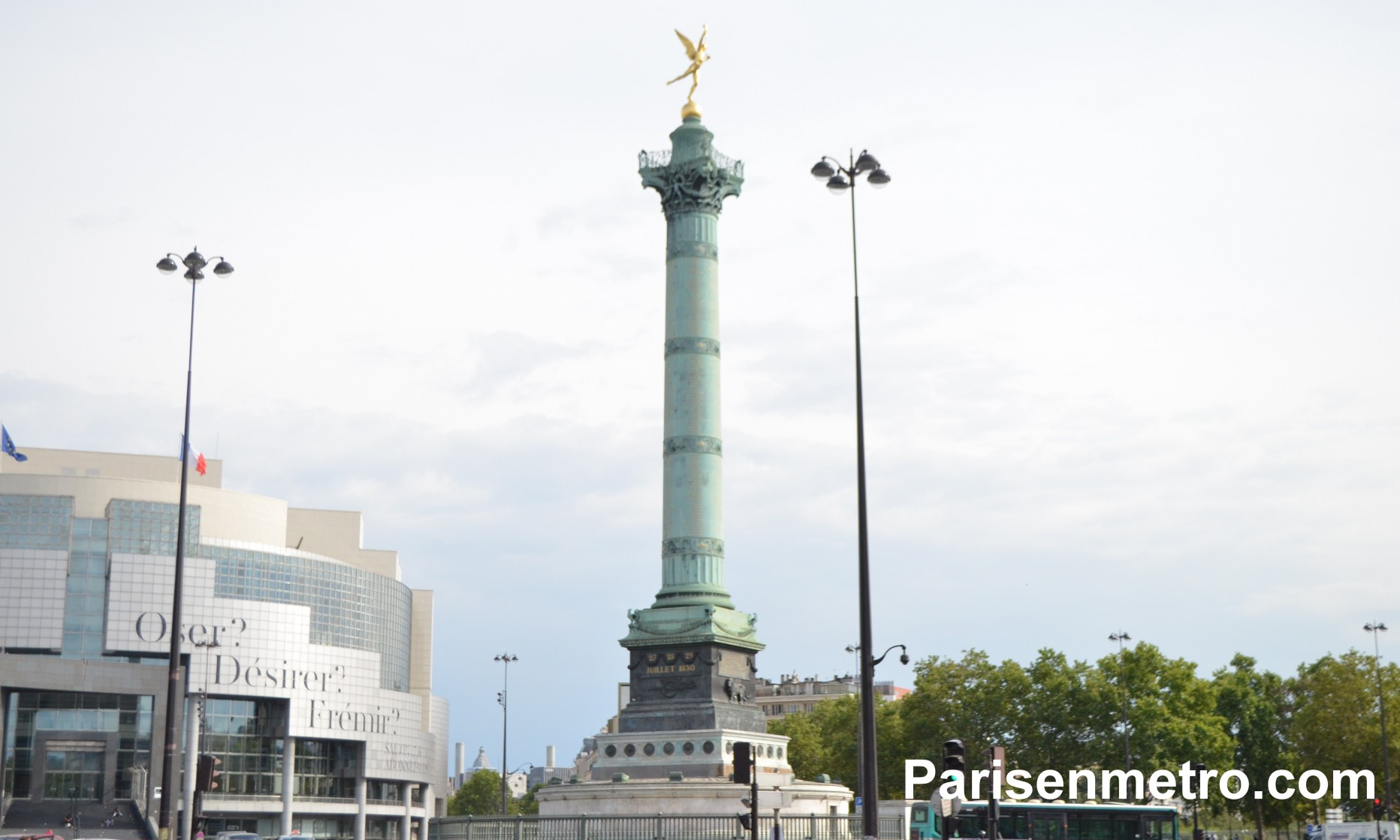 La Bastille (Colonne de Juillet)