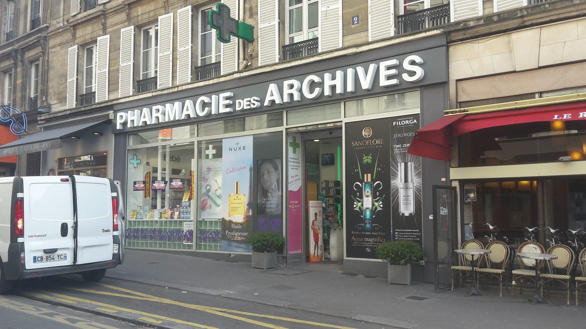 Pharmacie des Archives