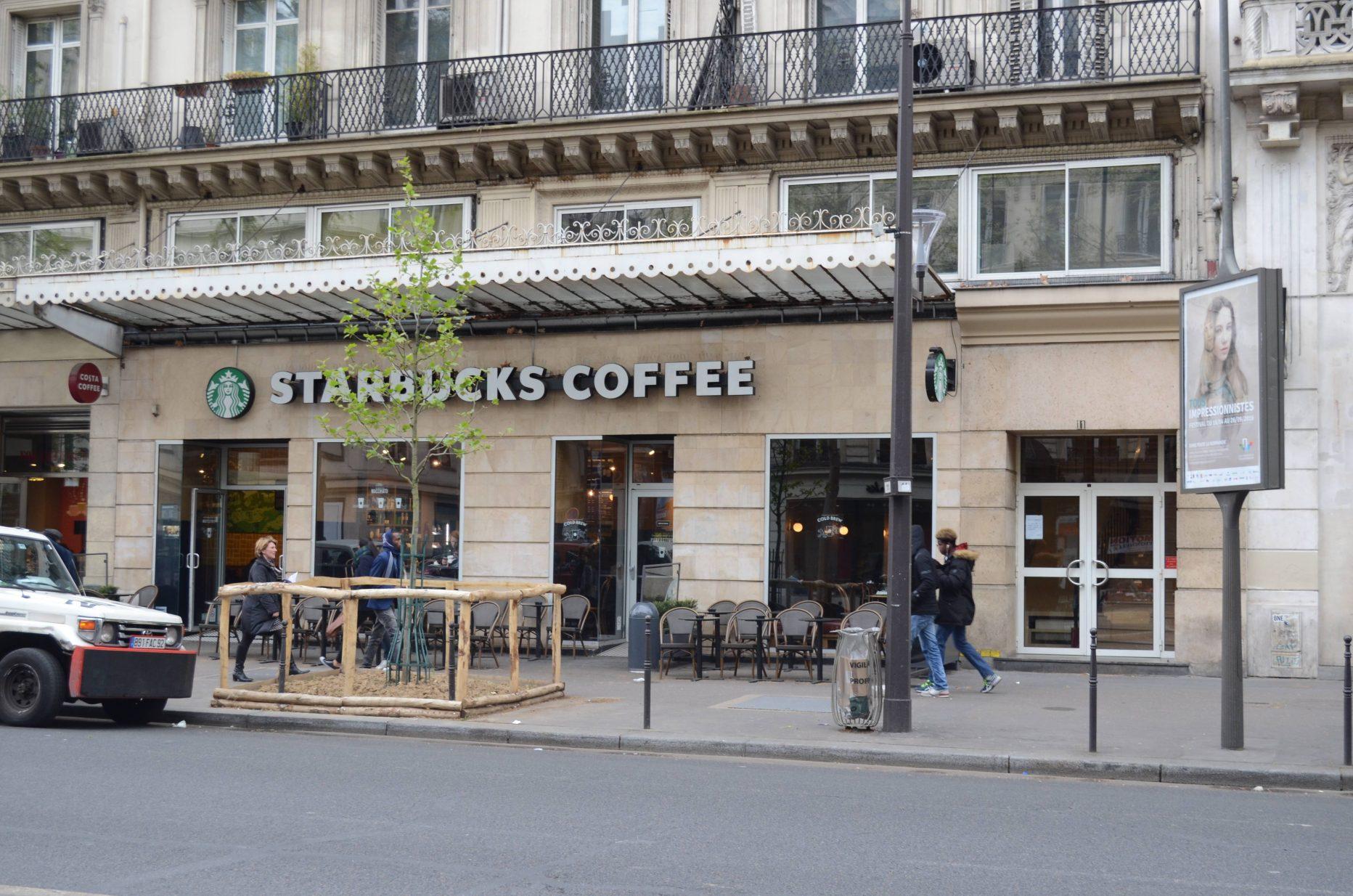 Starbucks Sébastopol