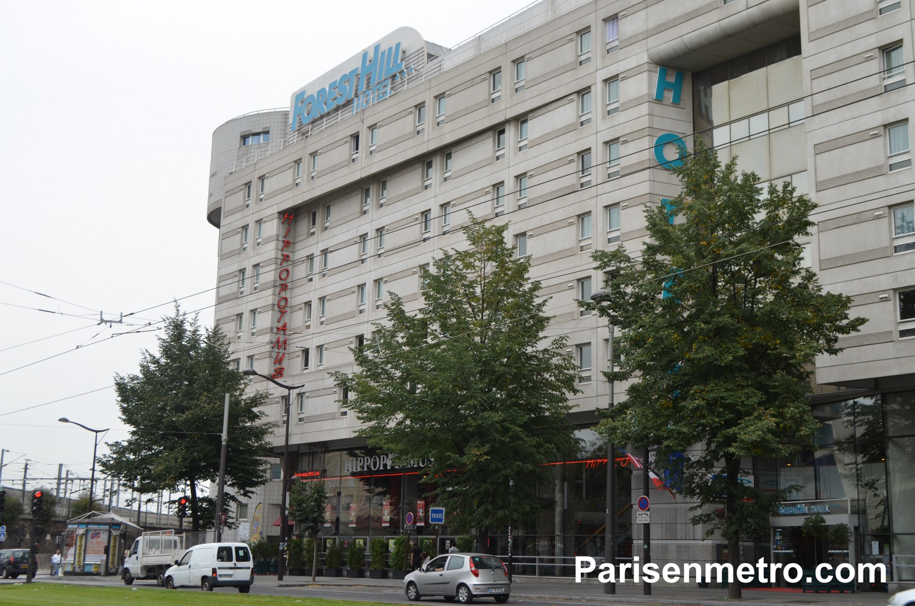 H tel forest hill paris la villette paris en m tro - Hotel forest hill porte de la villette ...