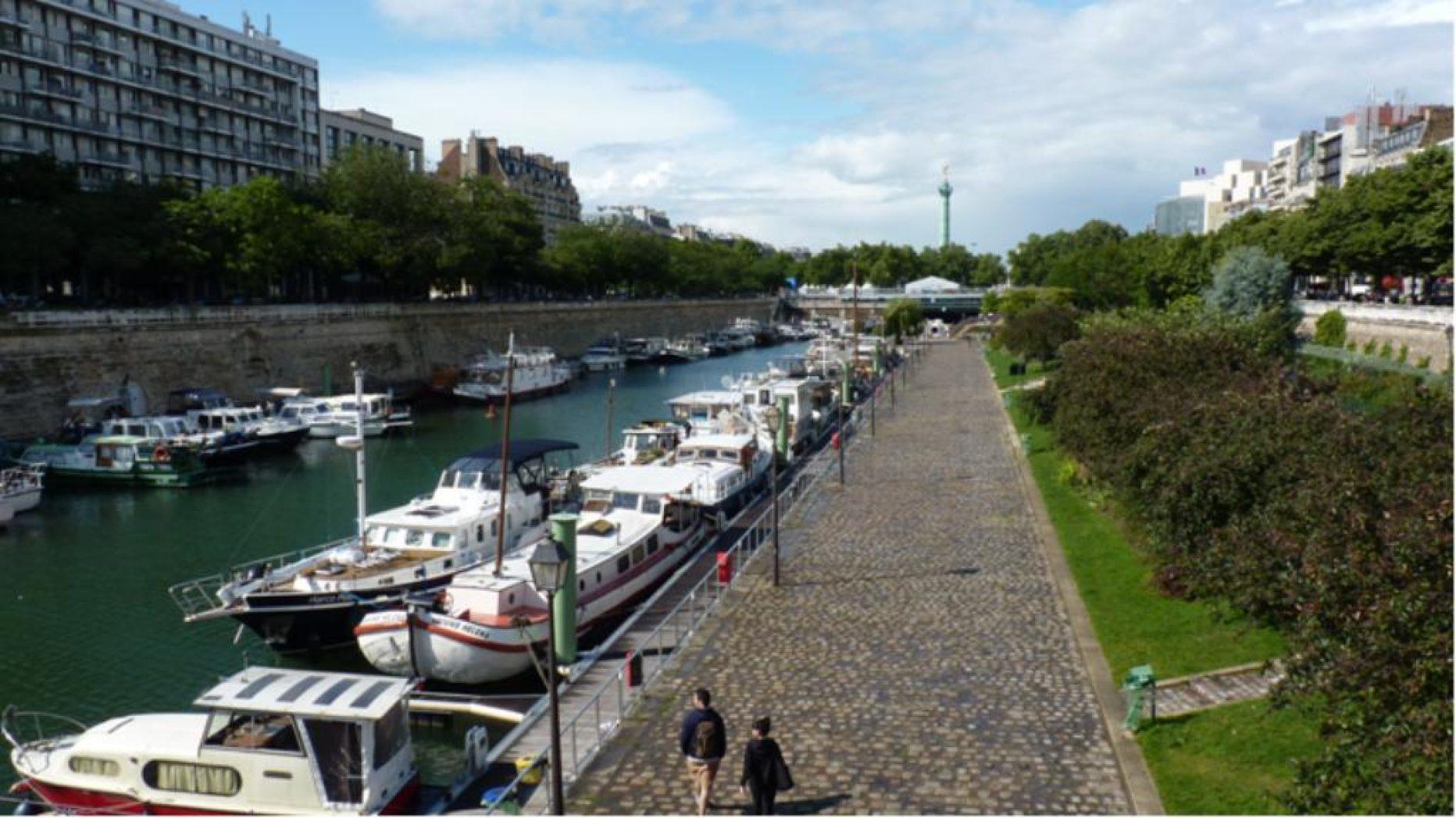 Jardin du port de l 39 arsenal paris en m tro - Port de l arsenal paris ...