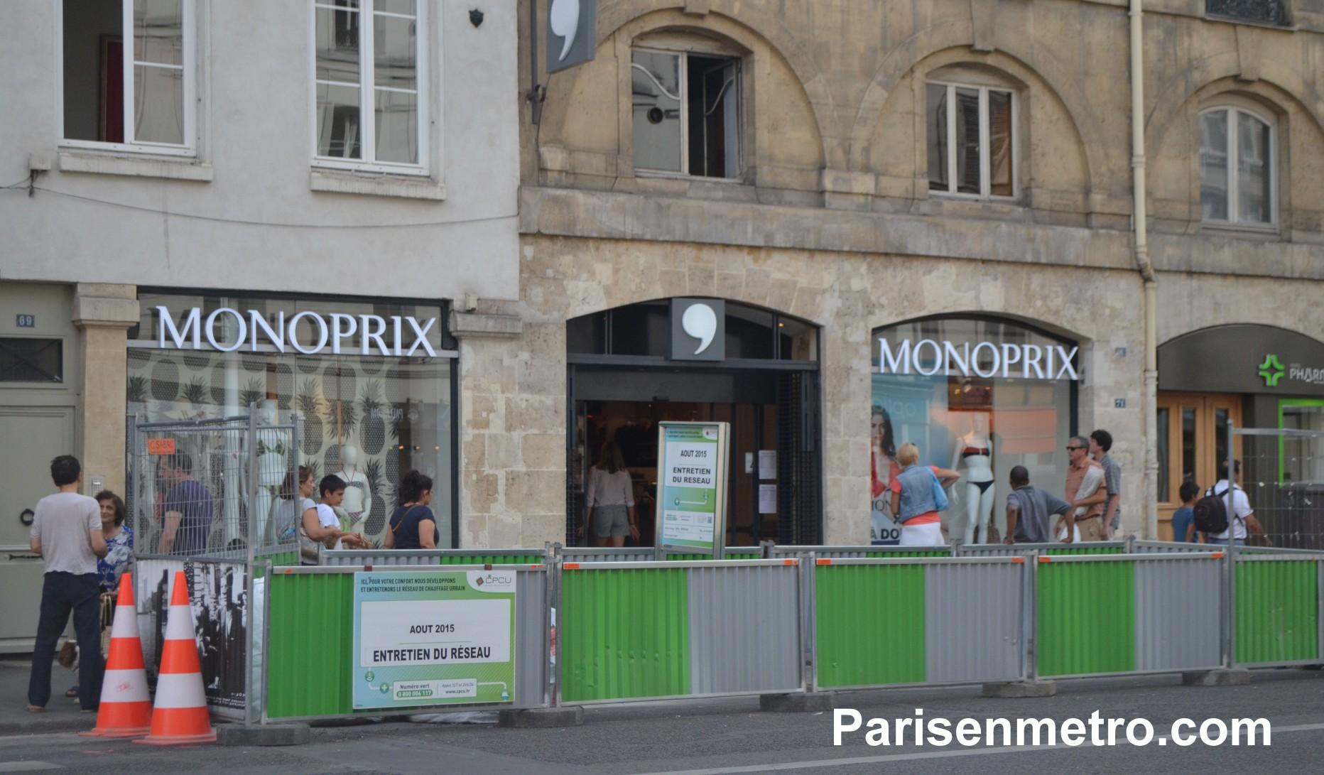 Monoprix saint paul paris en m tro - Monoprix rue saint antoine ...