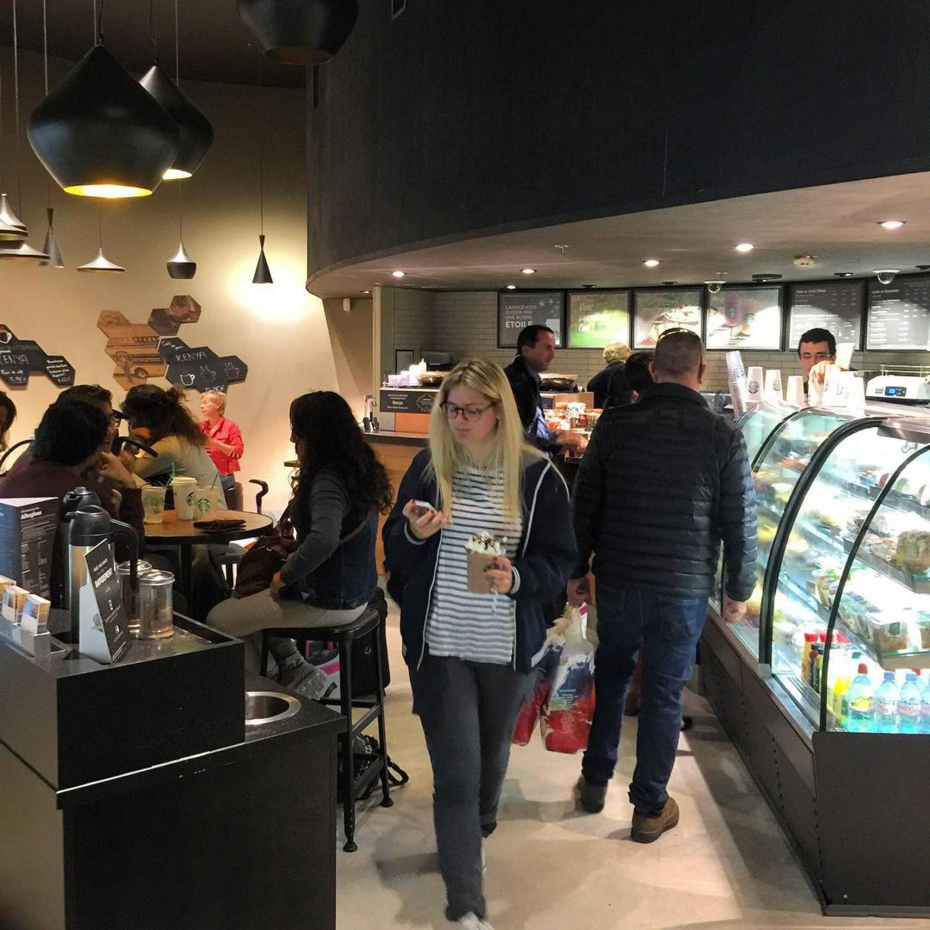 Starbucks porte maillot paris en m tro - Adresse palais des congres paris porte maillot ...