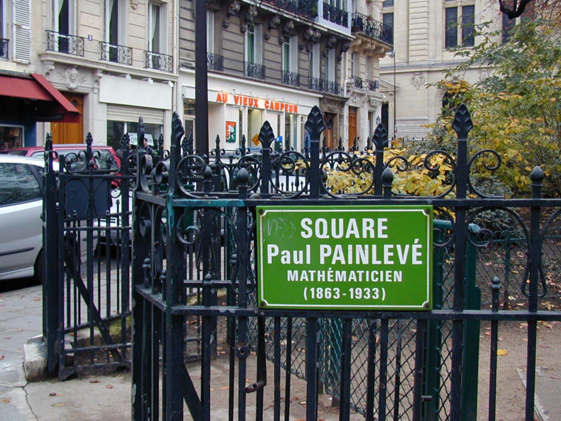 Square Paul Painlevé