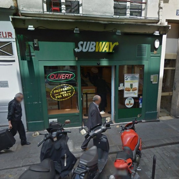 Subway Saint-Paul