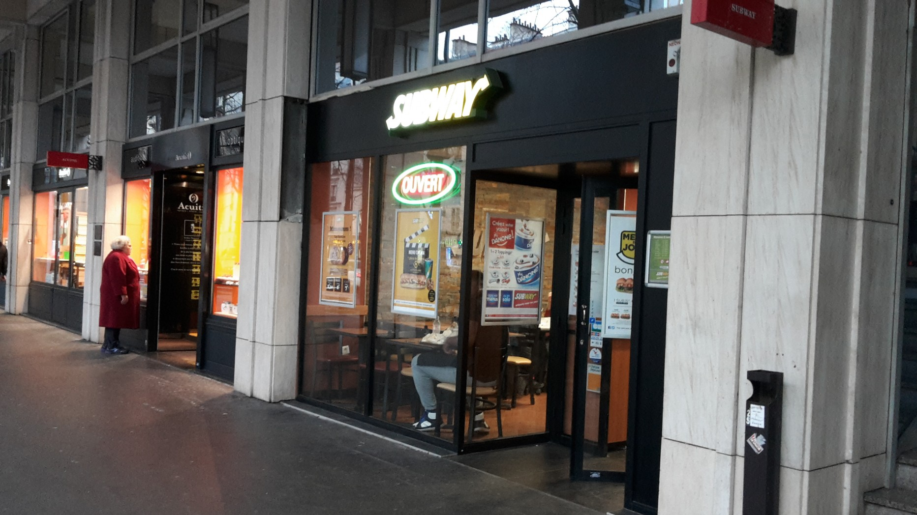 Subway – Place d'Italie