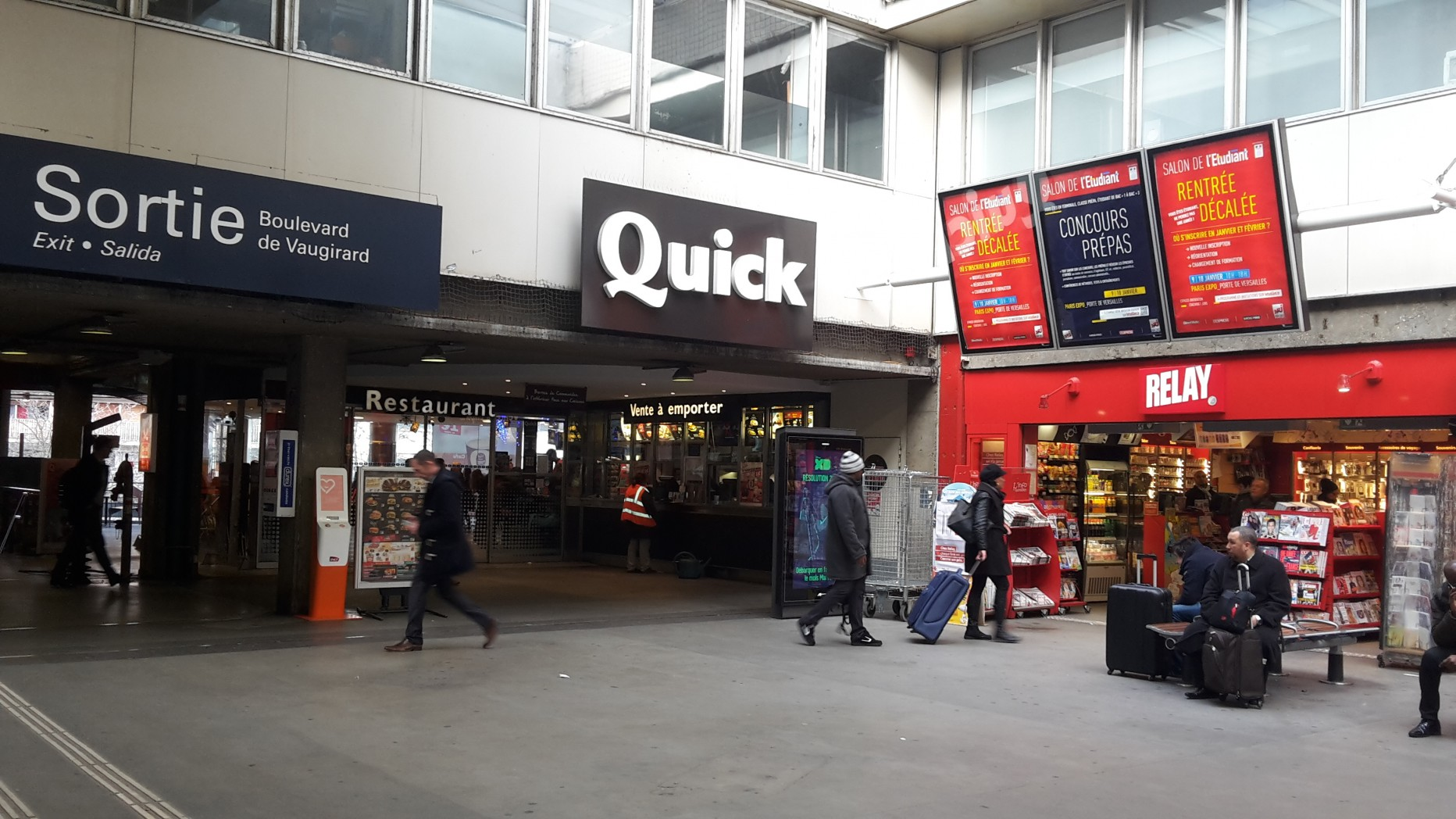 Quick Gare Montparnasse
