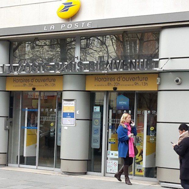 La Poste Paris Bienvenue