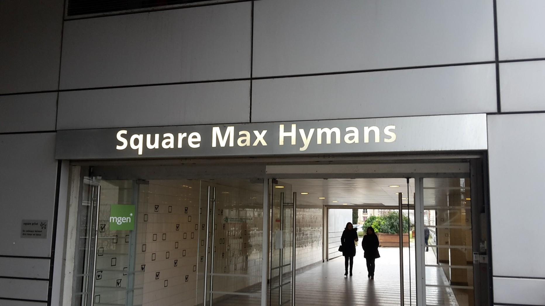 square max hymans paris en m tro. Black Bedroom Furniture Sets. Home Design Ideas