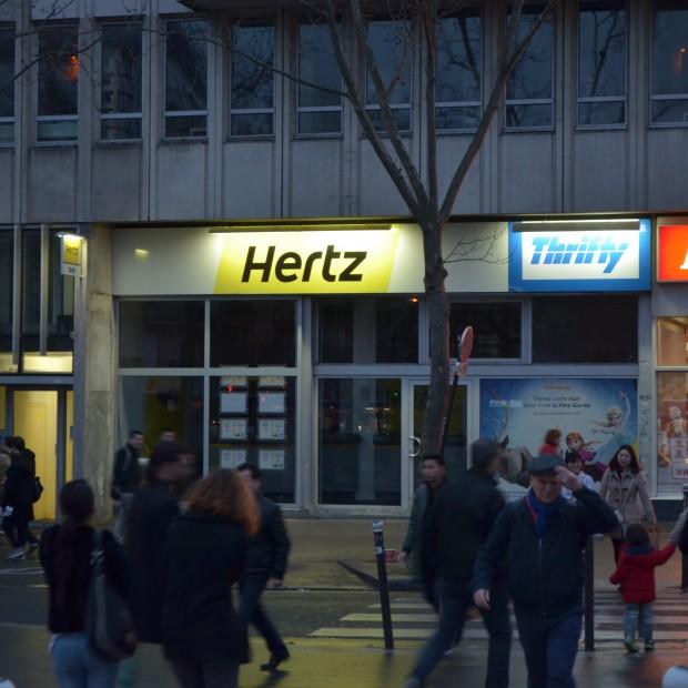 Hertz – Place d'Italie