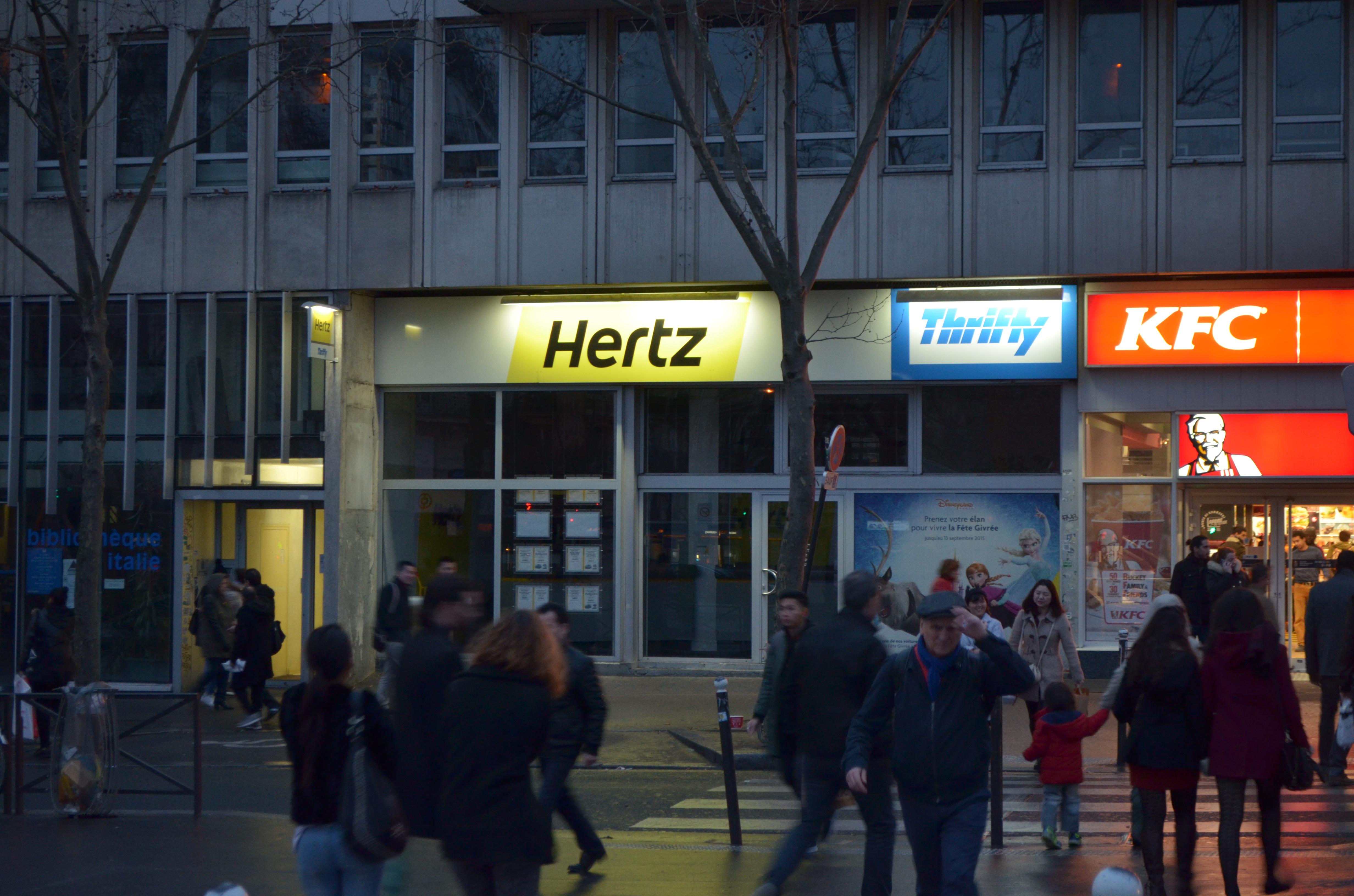 hertz place d 39 italie paris en m tro. Black Bedroom Furniture Sets. Home Design Ideas