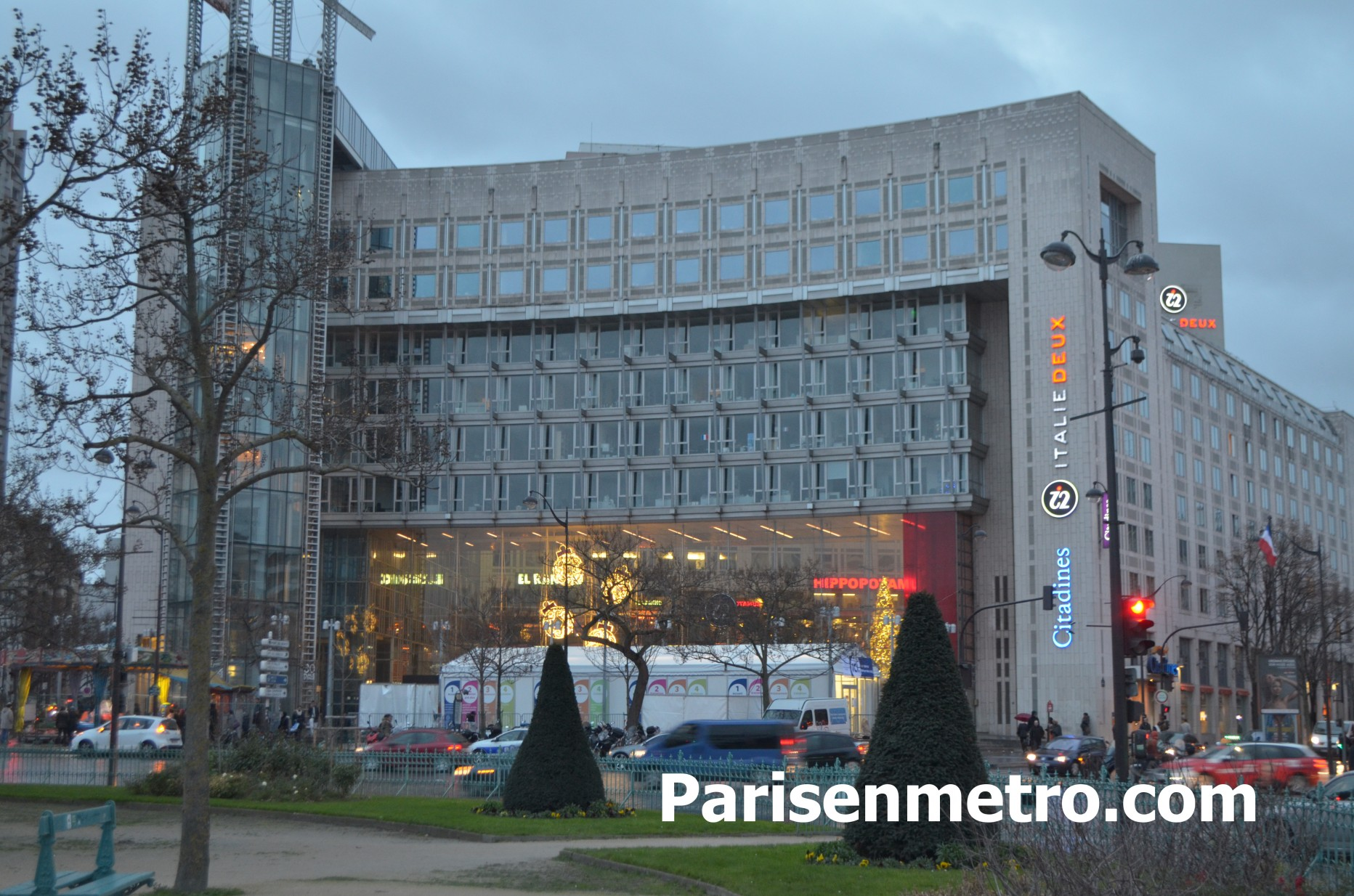 Hotel citadines place d 39 italie paris paris en m tro for Centre commercial porte d italie