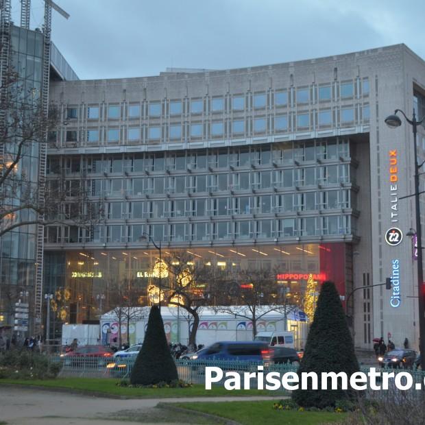 Hotel Citadines Place d'Italie Paris