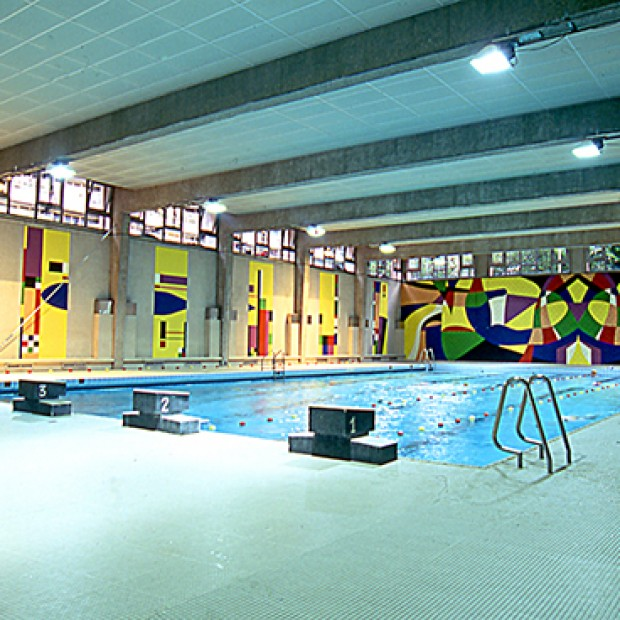 Piscine centre aquatique paris en m tro for Piscine 75019