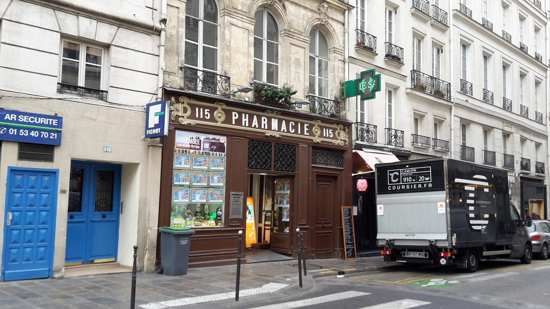 Pharmacie Saint Honoré – Pharmacie Machover