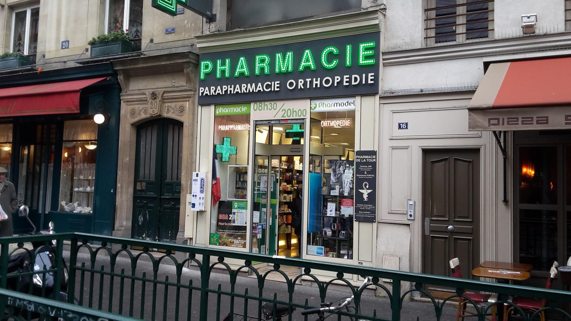 Pharmacie de la tour paris en m tro for Pharmacie de la piscine