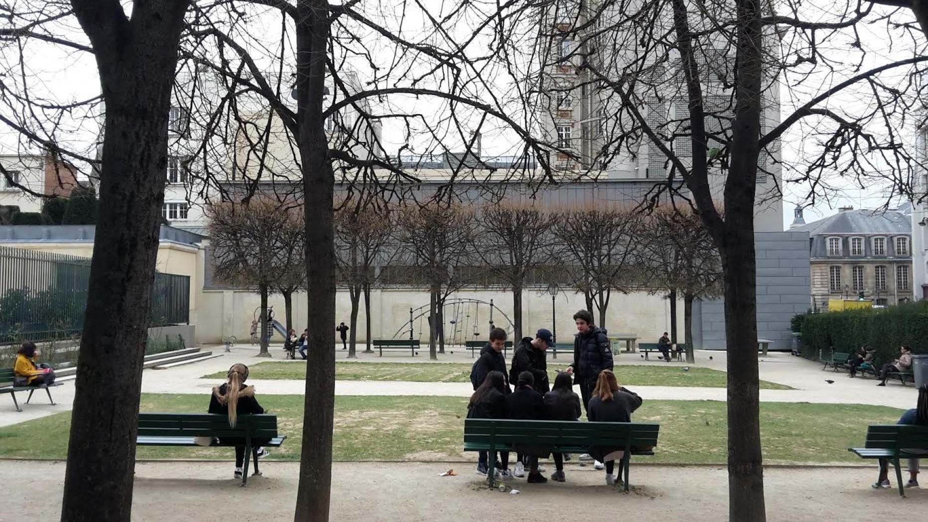 Jardin de l'Hôtel Salé – Léonor-Fini