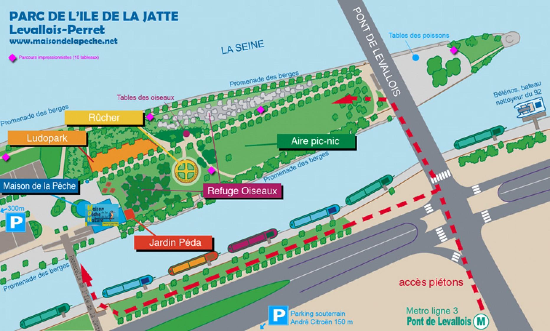 Parc de L'Ile de la Jatte