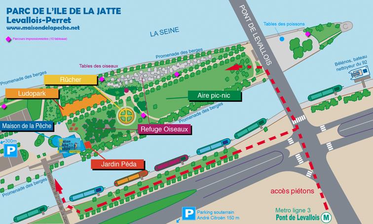 Parc De L Ile De La Jatte 224 Paris En M 233 Tro