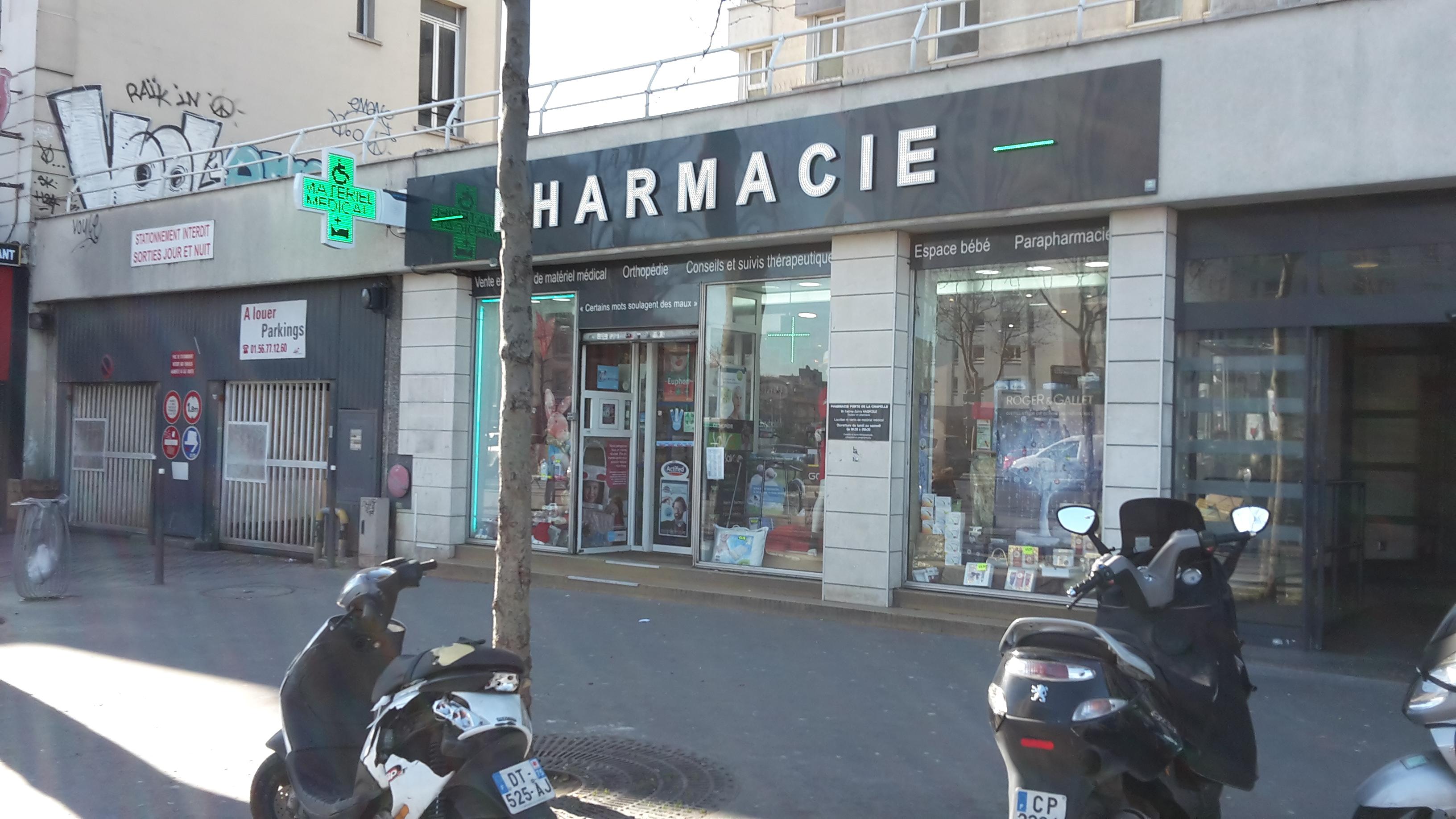 Pharmacie Porte De La Chapelle 224 Paris En M 233 Tro