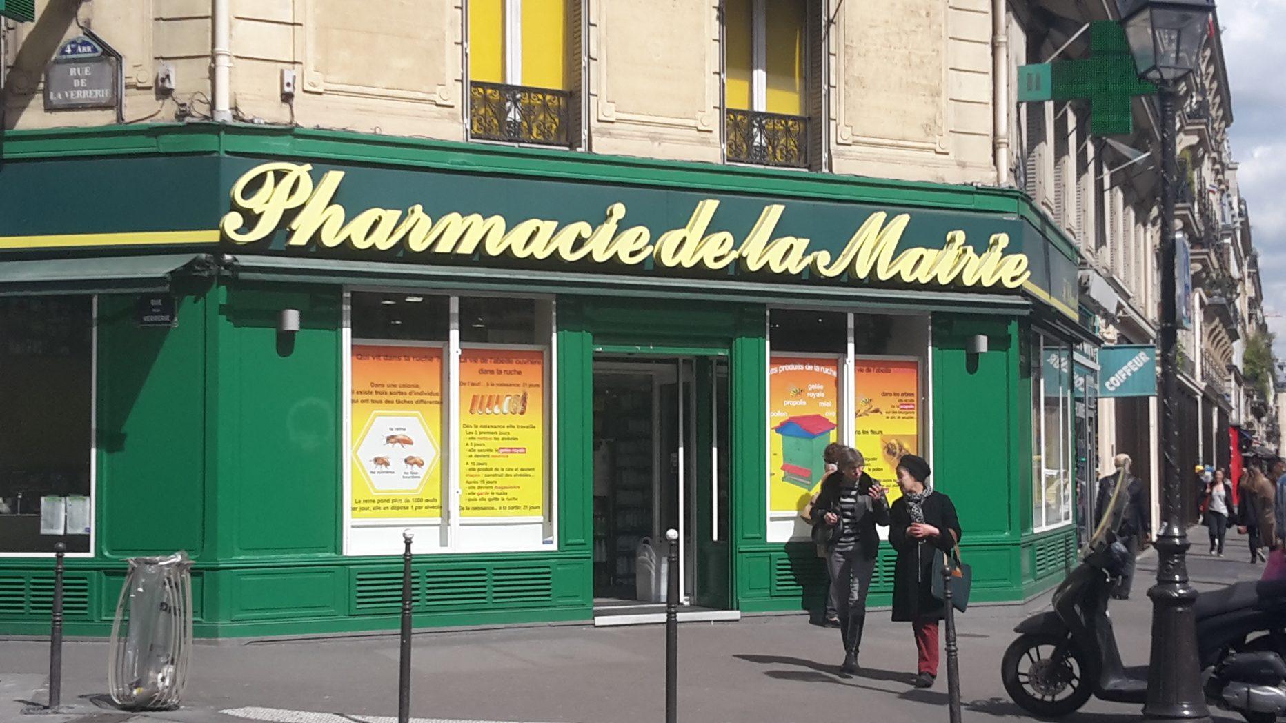 Pharmacie de la mairie paris en m tro for Pharmacie de la piscine