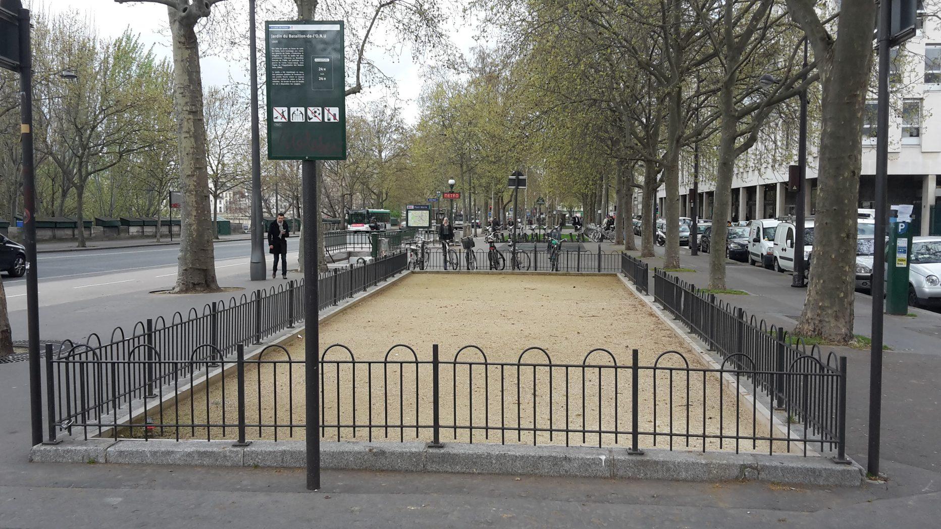 Jardin du bataillon de l'ONU