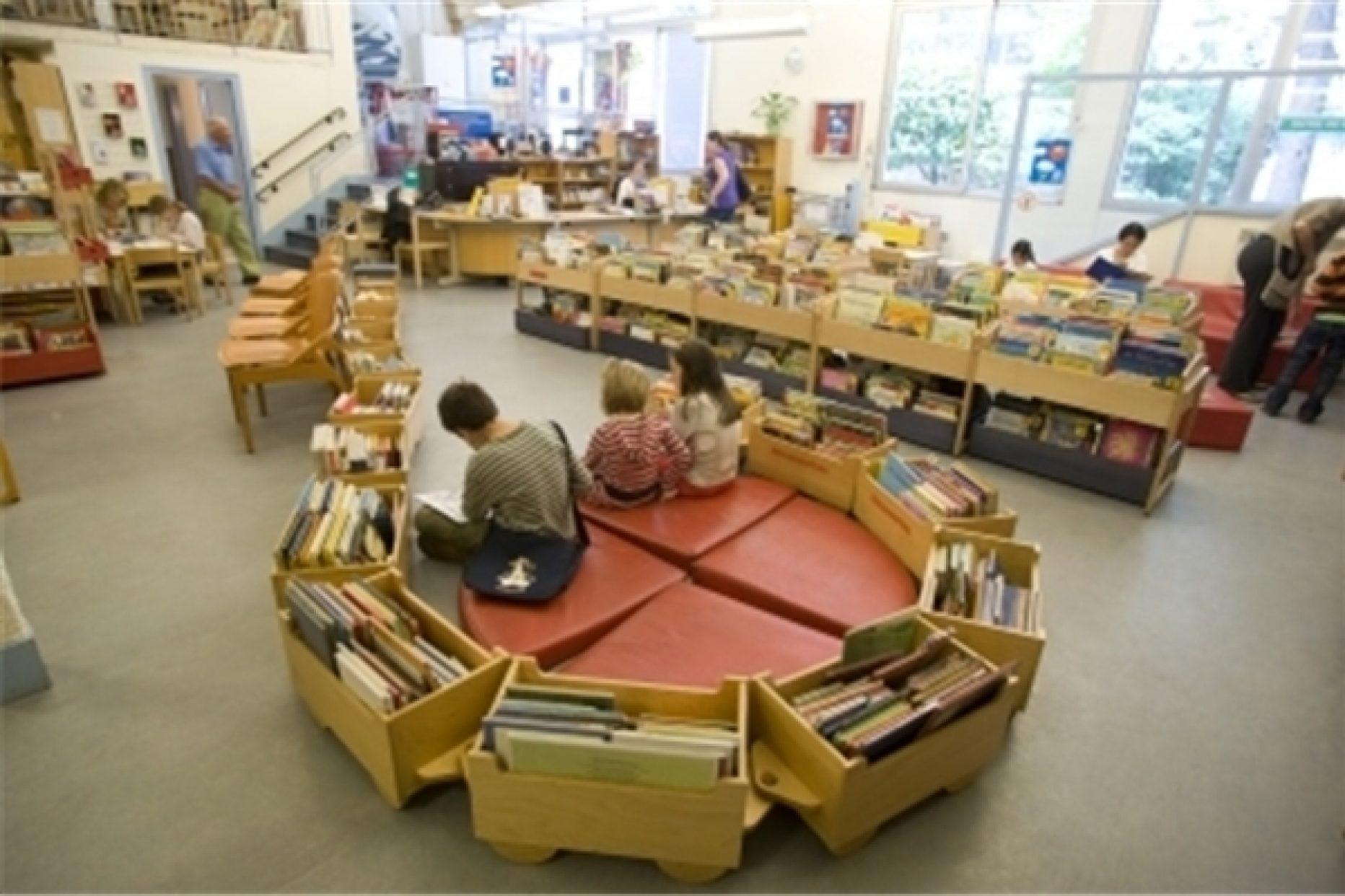 Bibliothèque Courcelles