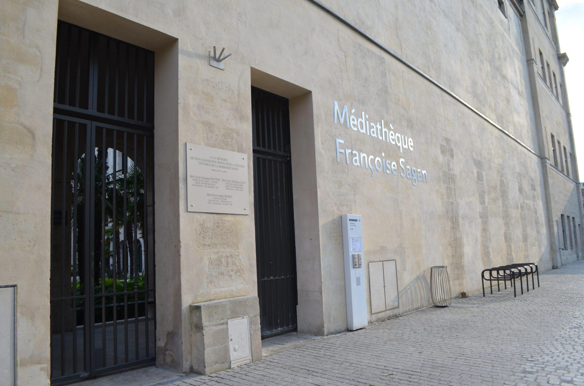 Médiathèque Françoise Sagan