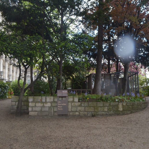 Jardin des combattants de la nueve