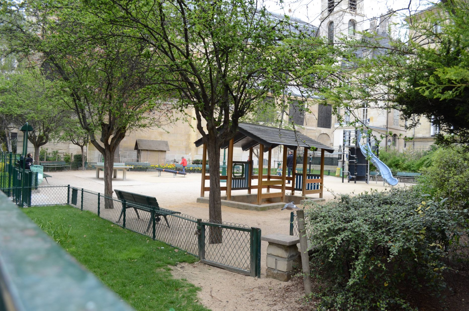 Square Charles-Victor Langlois