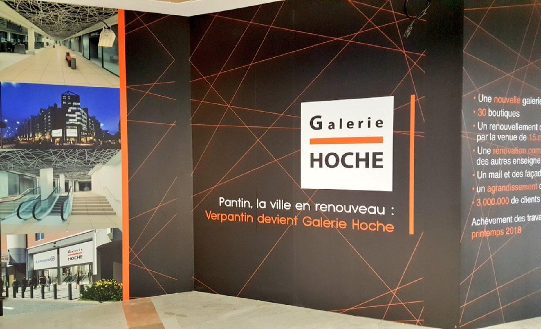 Centre Commercial Verpantin / Galerie Hoche