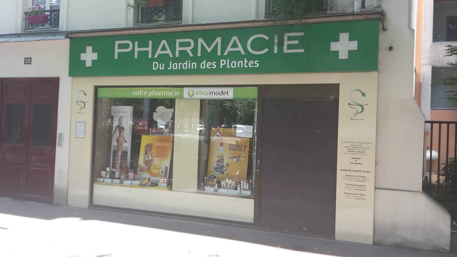 Pharmacie du Jardin des Plantes