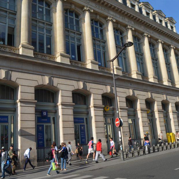 Quick gare du nord paris en m tro for Bureau de poste paris 13 tolbiac