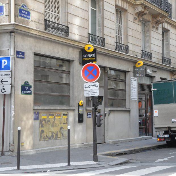 Bureau de Poste – Paris Palais Bourbon