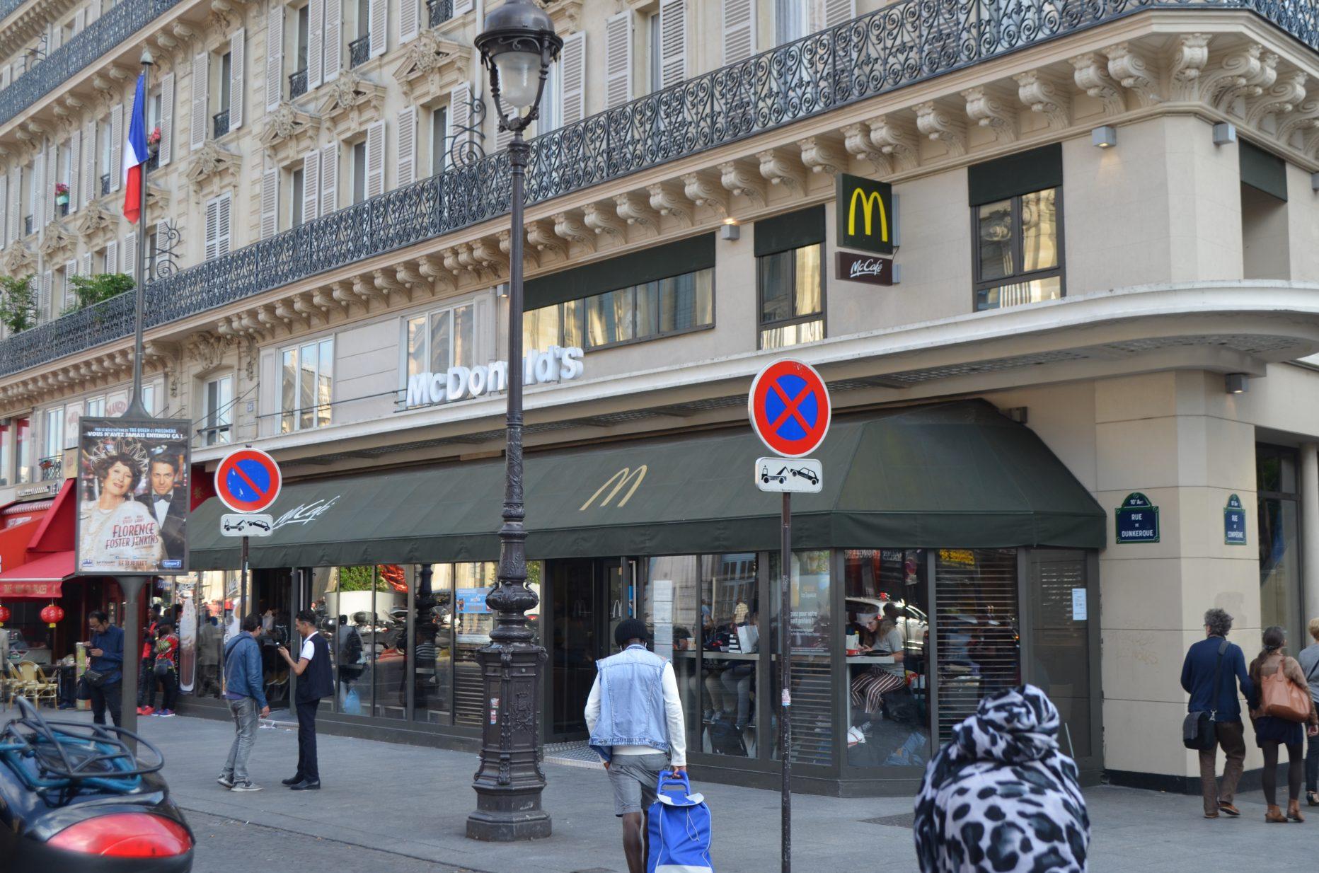 McDonald's Paris gare du nord