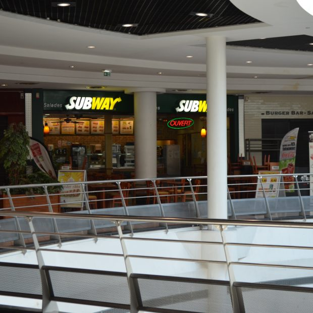 Subway Centre Commercial Créteil Soleil