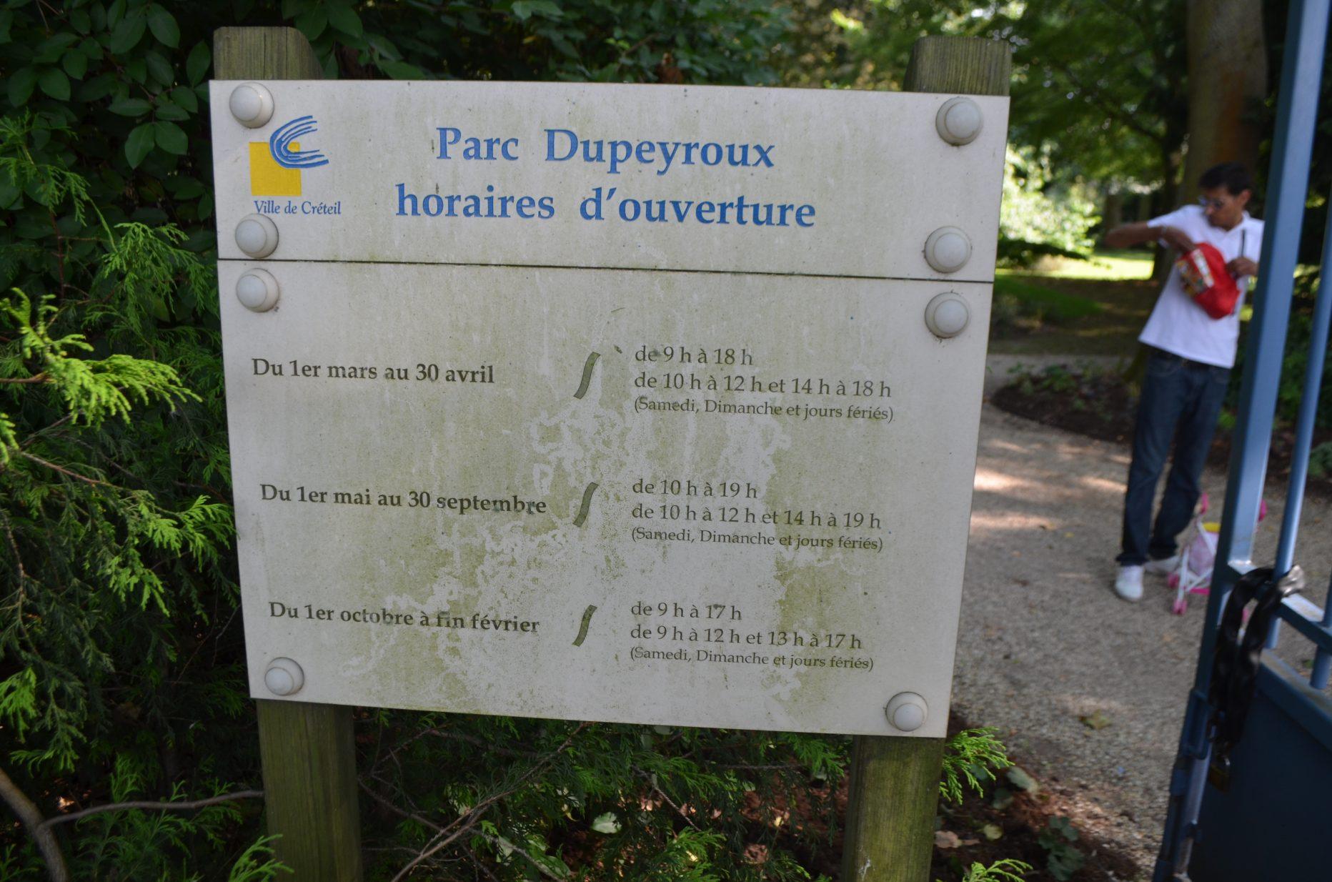 Parc Dupeyroux