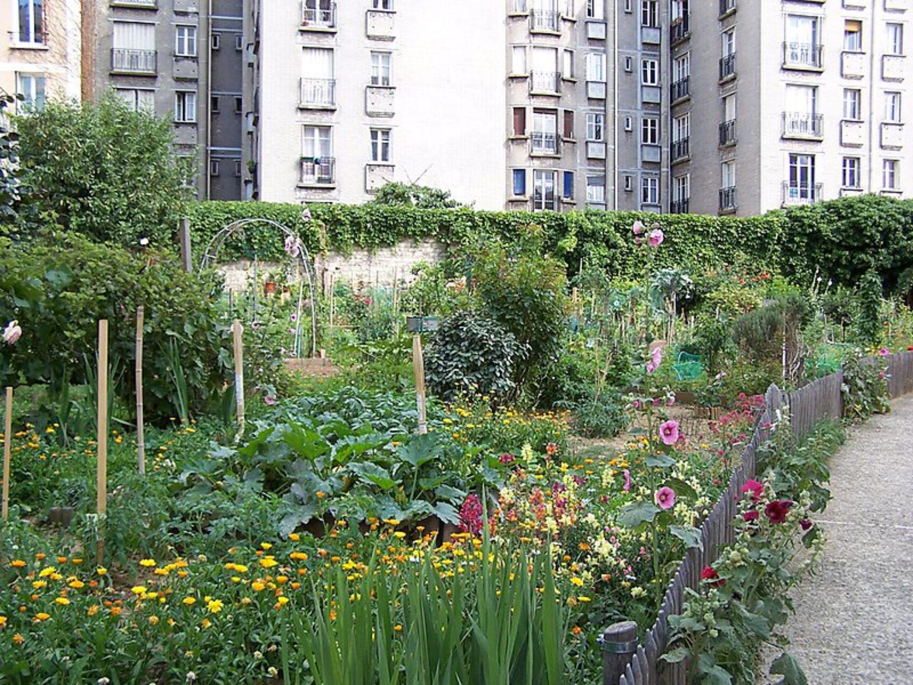 Jardin Kateb-Yacine (ex-jardin d'immeubles du boulevard de l'Hôpital)