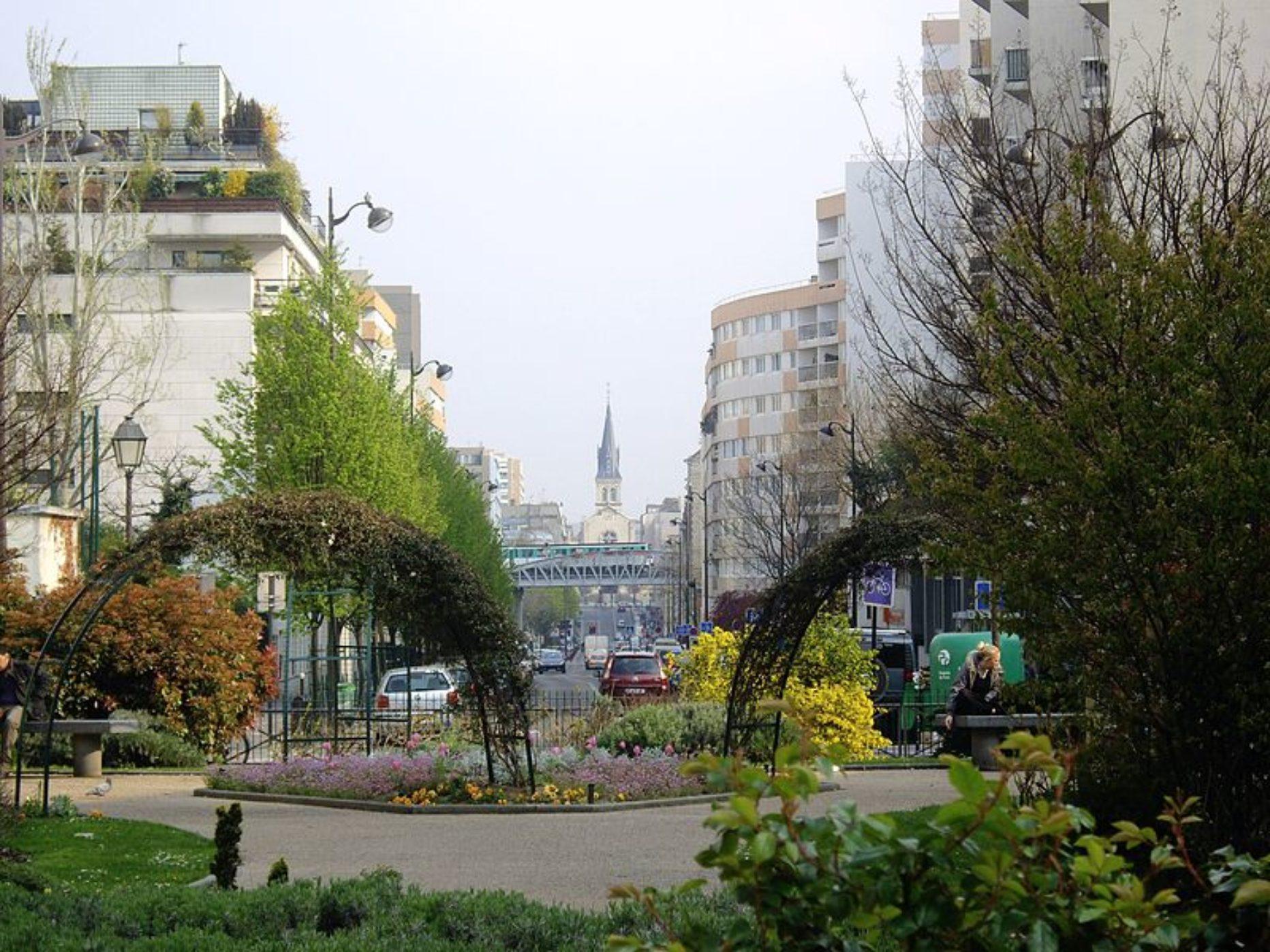 Jardin de la place Louis-Armstrong